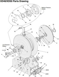 Graco XD 40 & 50 Hose Reel Latch Repair Kits - John M ...