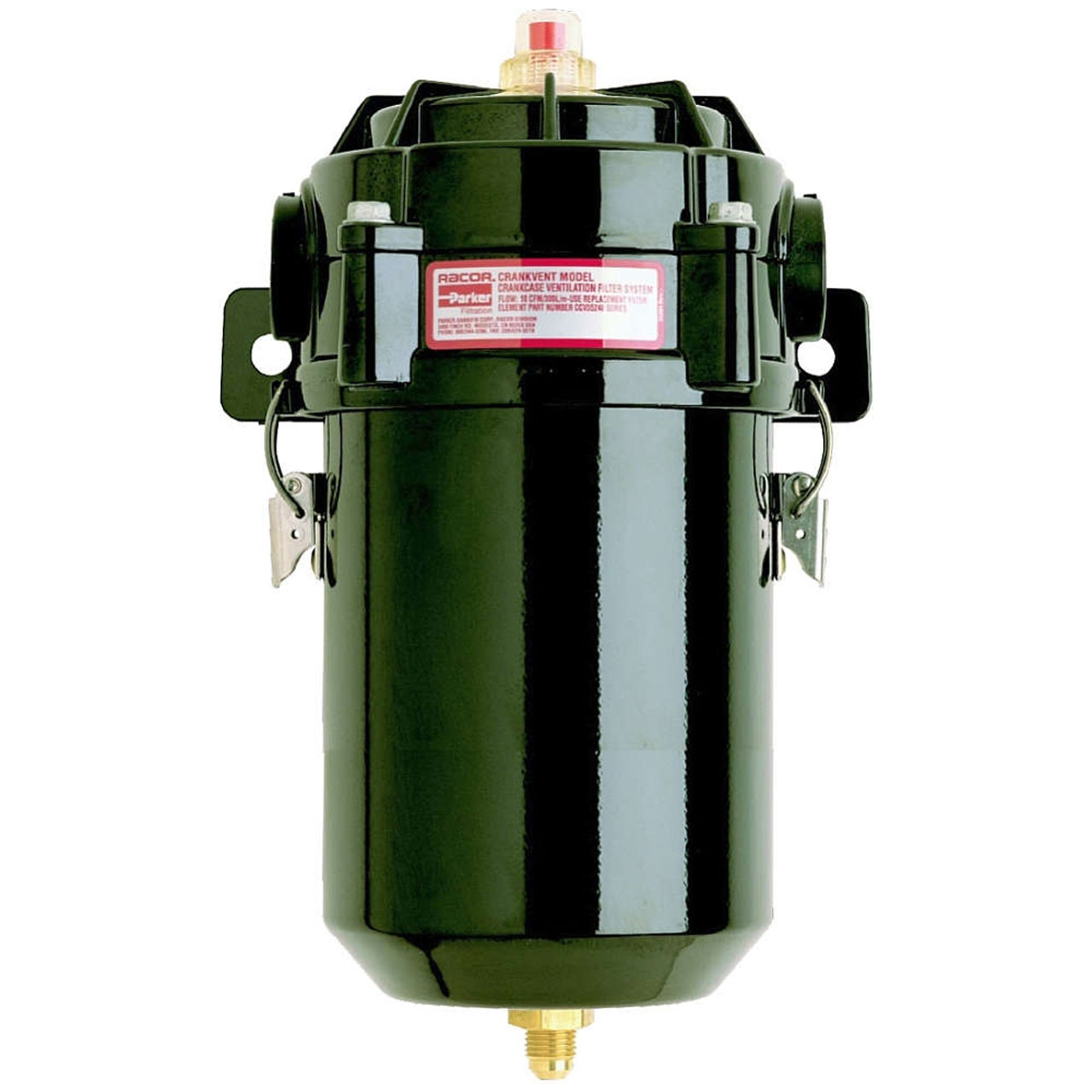 hight resolution of parker racor ccv12000 series 50 cfm closed crankcase ventilation bypass filter assembly