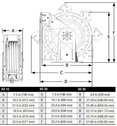 Graco 3/8 in. x 65 ft. XD20 Series Heavy Duty Spring
