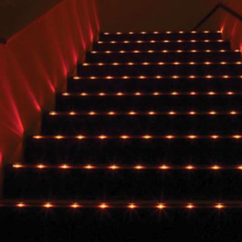 12V Beam Splitter LED Low Profile Extrusion Step Light STADIA LITE 5000 By LEDlinc
