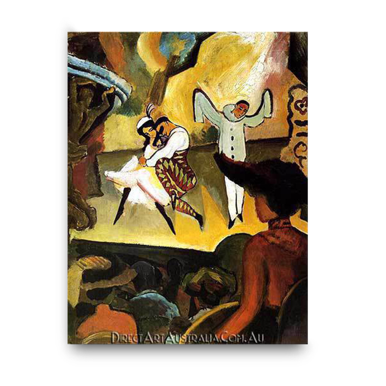 August Macke Russian Ballet - Direct Art Australia