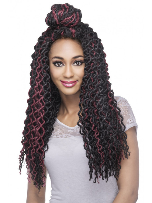 Ziggy Curl Fox Locs Braid 18  UptownWigs