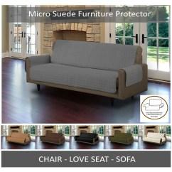 Quilted Microsuede Sofa Cover La Sofateria Urgell Furniture Protector Lush Decor Fl Paisley