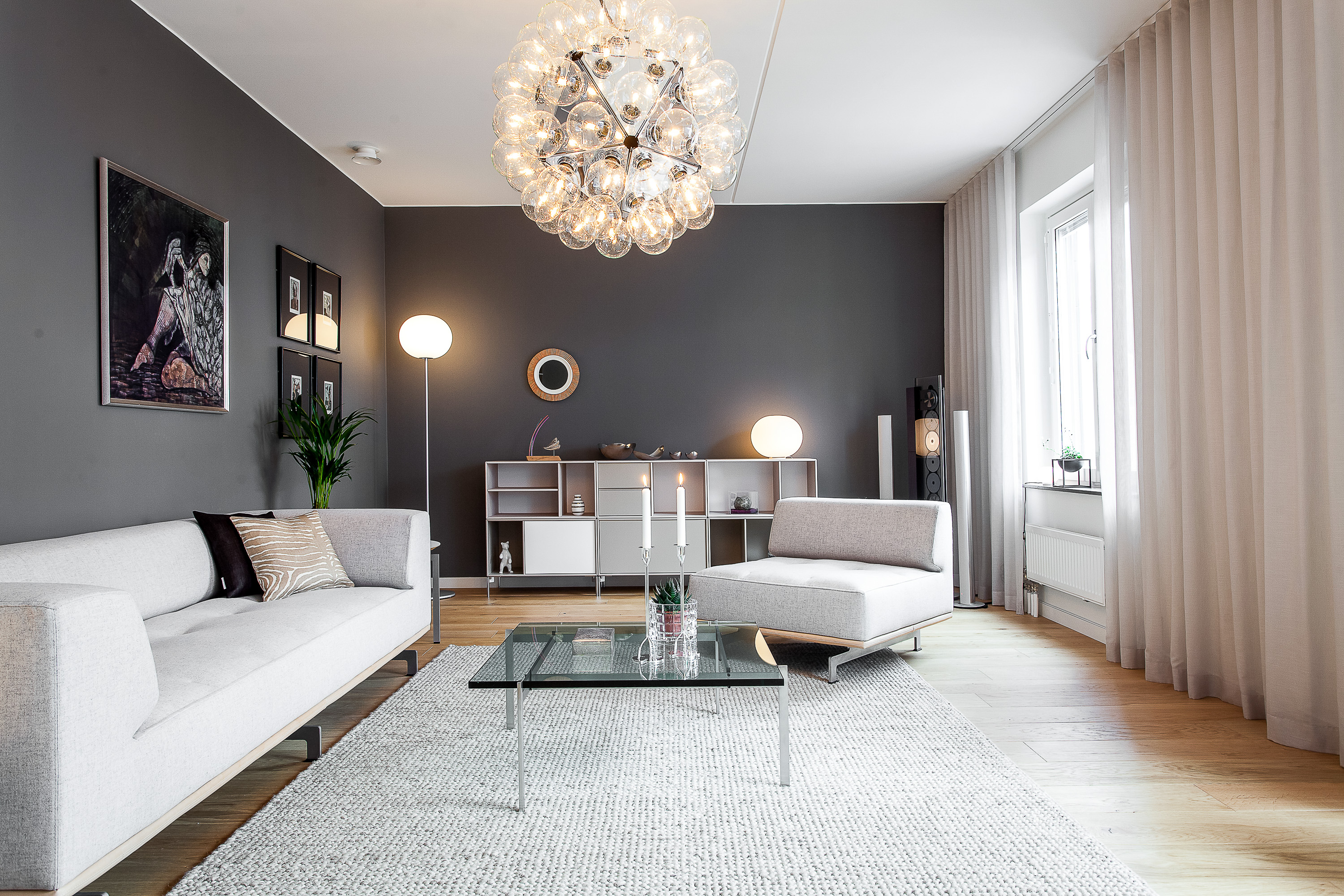 Contemporary Living Room Lighting Inspirations  FLOS USA