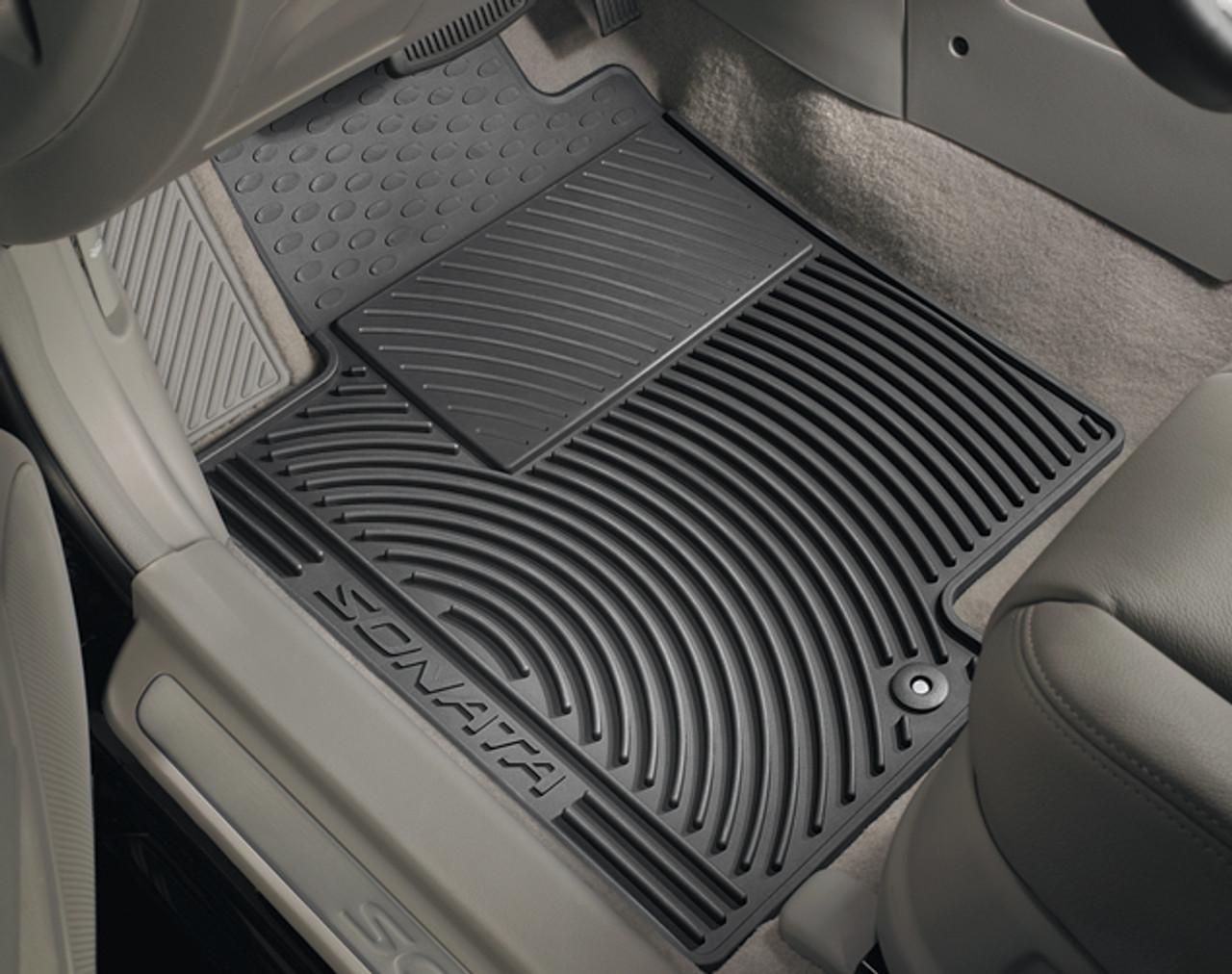 Hyundai Sonata Rubber Floor Mats  Free Shipping  Hyundai