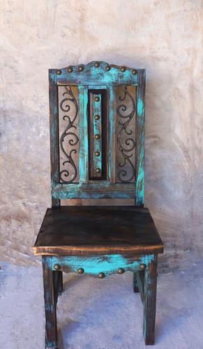 Zarape Shutter Dining Chair Sofia S Rustic Furniture