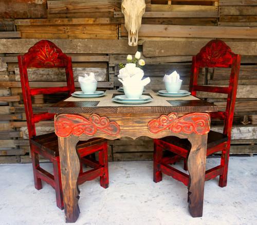 Hidalgo Dining Table Sofia S Rustic Furniture