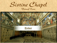Take a 3D Virtual Tour of the Sistine Chapel, St. Peter's ...