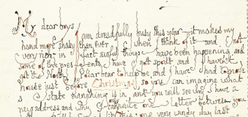 Read J R R Tolkiens Letter From Father Christmas To