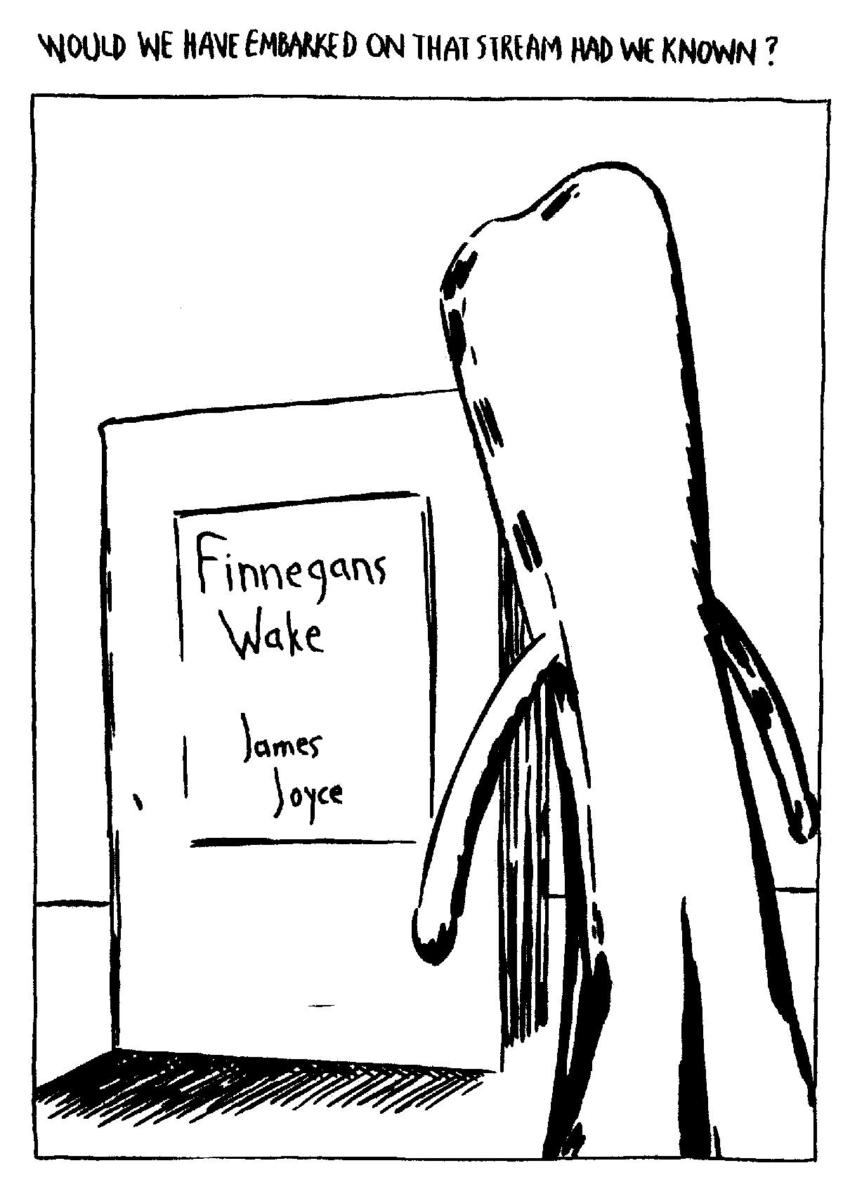 Hear a Reading of James Joyce's Finnegans Wake Set to