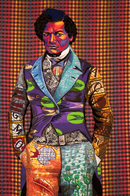 Bisa Butler's Beautiful Quilted Portraits of Frederick Douglass, Nina Simone, Jean-MichelBasquiat & More 2