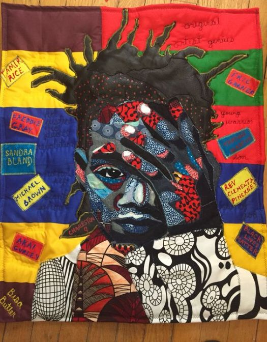 Bisa Butler's Beautiful Quilted Portraits of Frederick Douglass, Nina Simone, Jean-MichelBasquiat & More 4