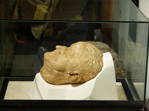 joyce death mask