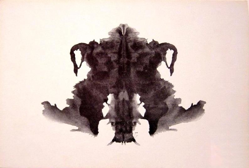 Hermann Rorschach Inkblot Test