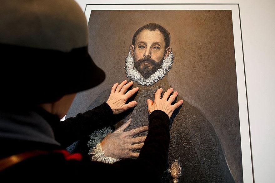 classic-paintings-3D-visual-impaired-prado-museum-madrid-3