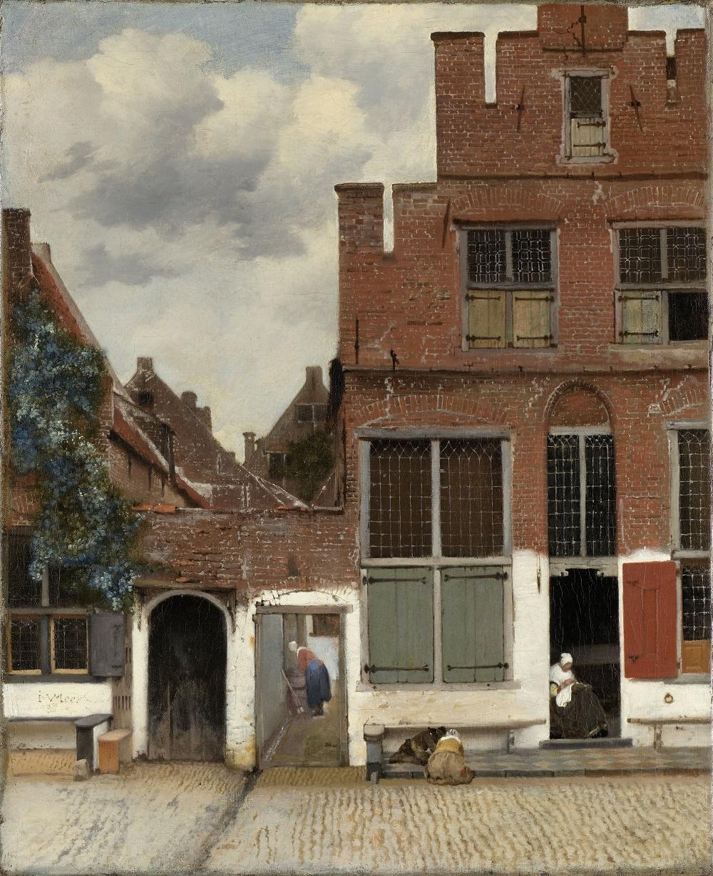 Vermeer painting