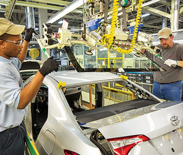 Toyota Produced Its One Millionth Corolla December 2017 At Its Blue Springs Miss