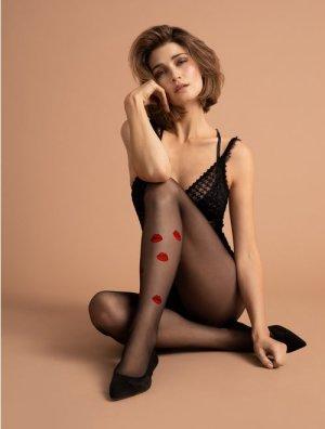 reducere Ciorapi fini cu model Fiore Kiss Me 15 den, cel mai mic pret