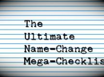 THE BEST POST-WEDDING NAME CHANGE CHECKLIST - Alicia In A ...