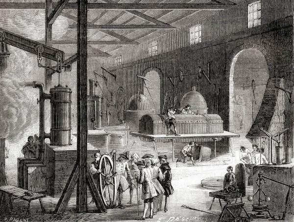 Boulton And Watt' Steam Engine Factory Soho
