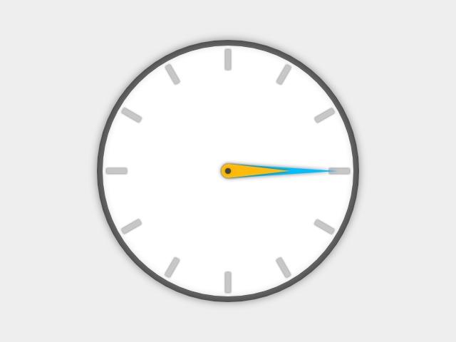 時鐘 | JavaScript 程式專案 | 橘蘋學習平臺