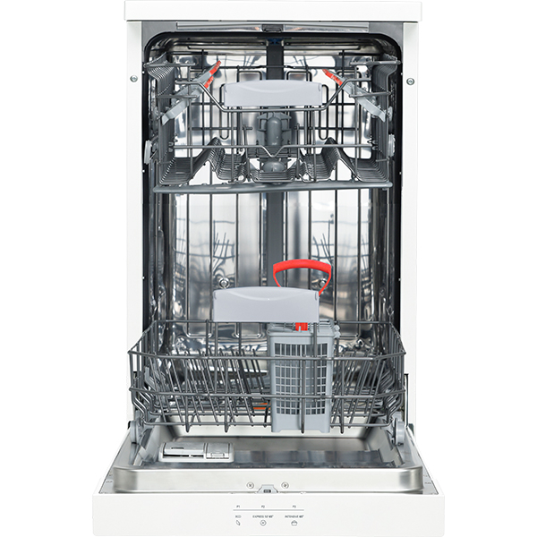Masina de spalat vase independenta SHARP QW-HS12F472W-EU, 10 seturi, 3 programe, 45 cm, Clasa A++, alb