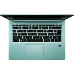 "Laptop ACER Swift 1 SF114-32-P4DU, Intel® Pentium® Silver N5000 pana la 2.7GHz, 14"" Full HD, 4GB, SSD 128GB, Intel® UHD Graphics 605, Linux, Aqua Green"