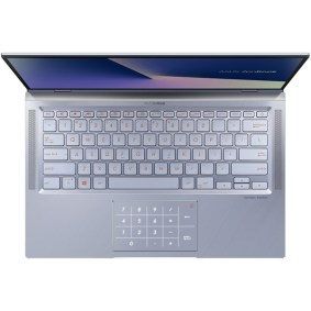 "Laptop ASUS ZenBook 14 UM431DA-AM030, AMD Ryzen 7-3700U pana la 4GHz, 14"" Full HD, 16GB, SSD 1TB, AMD Radeon RX Vega 10, Endless OS, Utopia Blue"