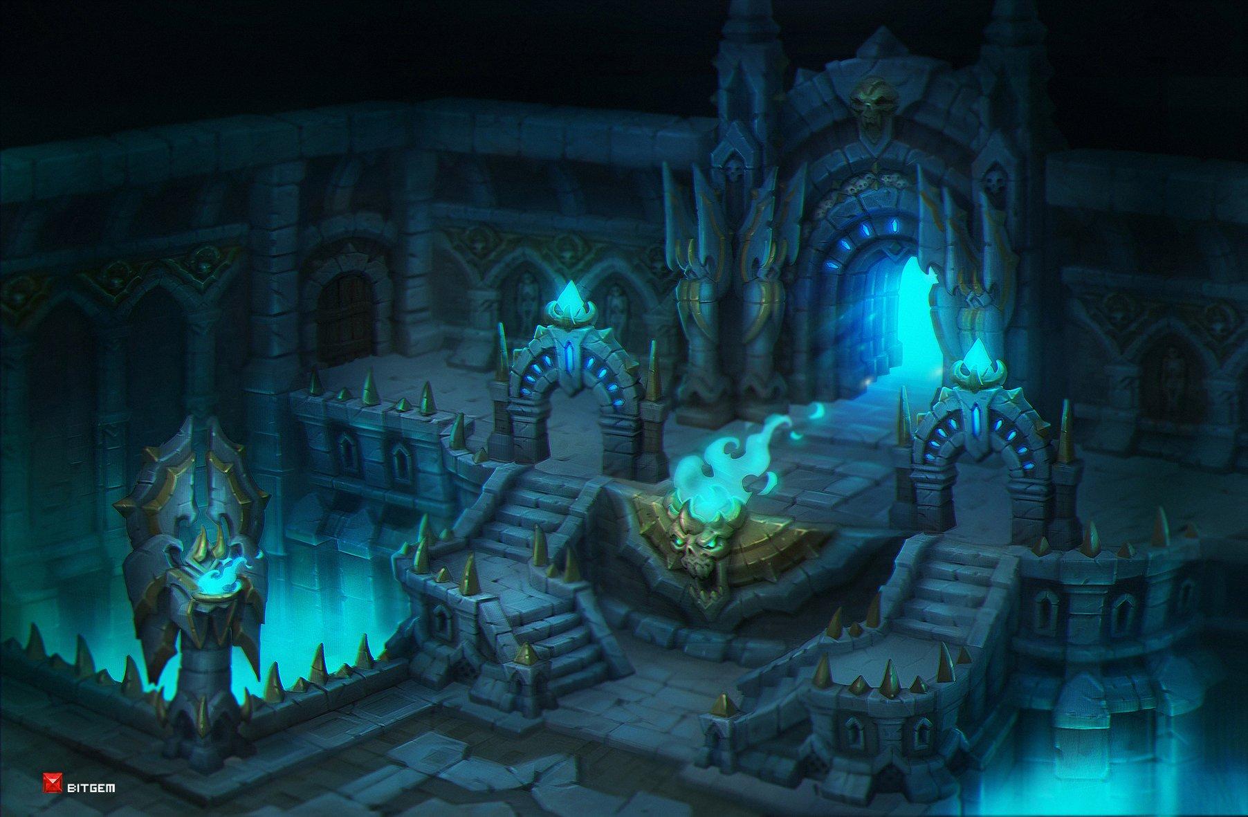 ArtStation  Dungeon 2 Dmitry Barbashin