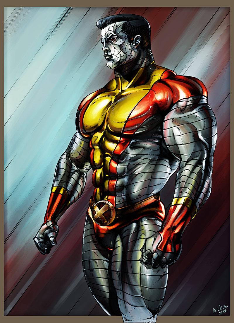 Artstation - X-men Colossus Fan Art Gerg Kovcs