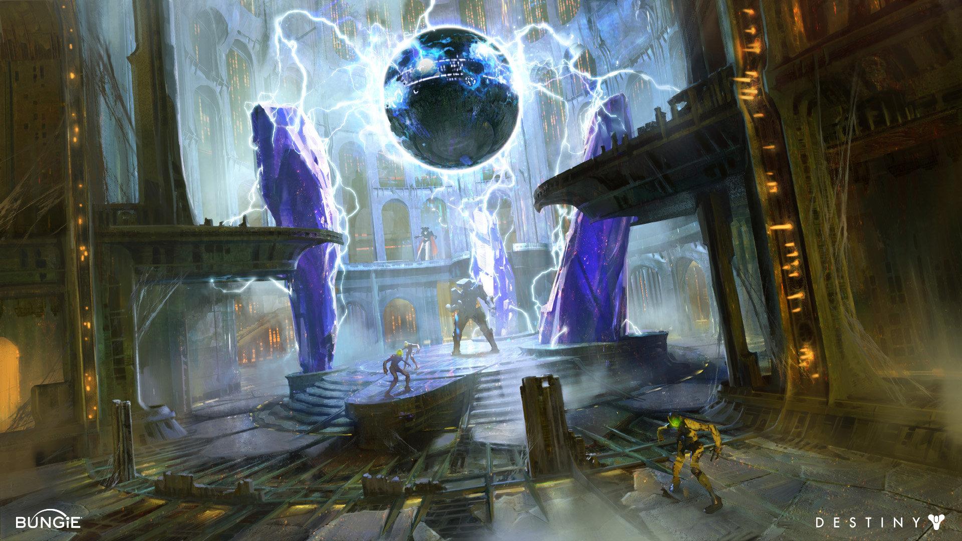 Destiny 2 Kings Fall Wallpaper Artstation Destiny Hive Dreadnaught Interiors Dorje