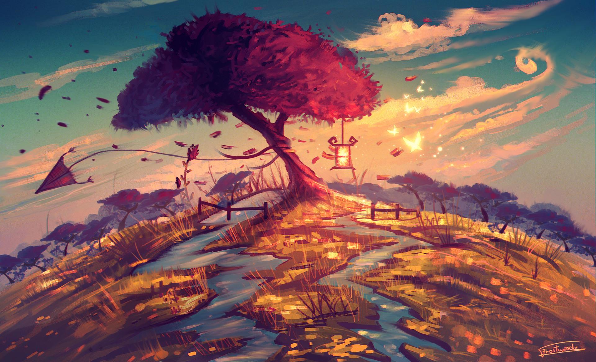 Artstation  Sakura Tree, Cosmin Alexandru Radu