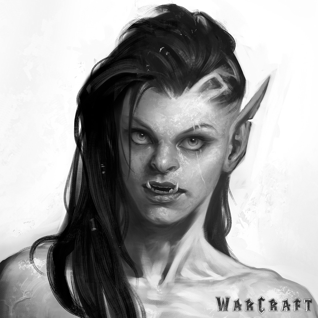 Wei Wang  The Art of Warcraft Film  Garona