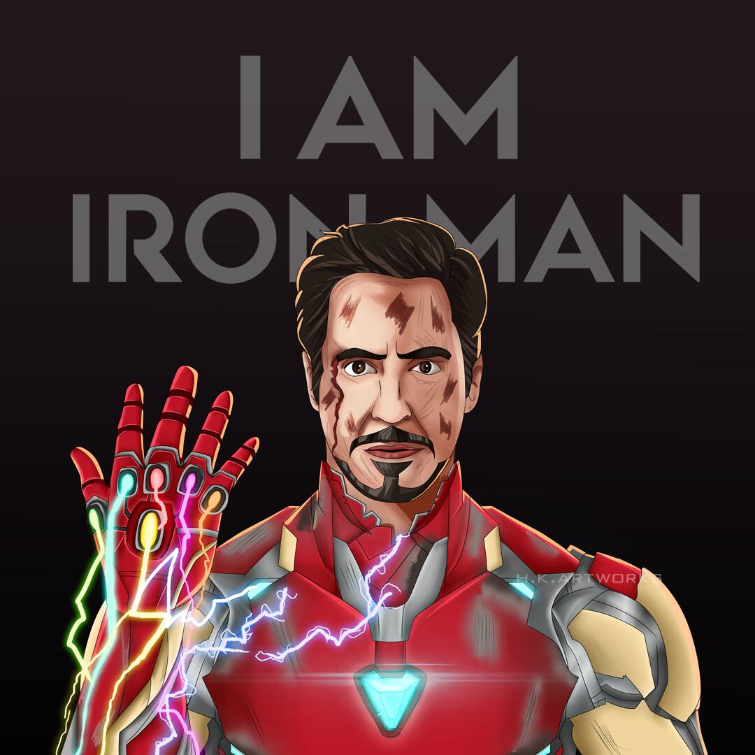 artstation i am iron