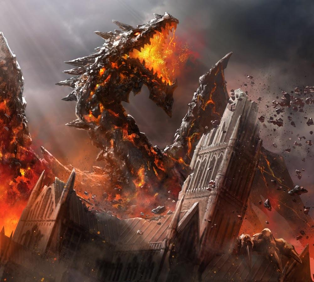 lava dragon by shen