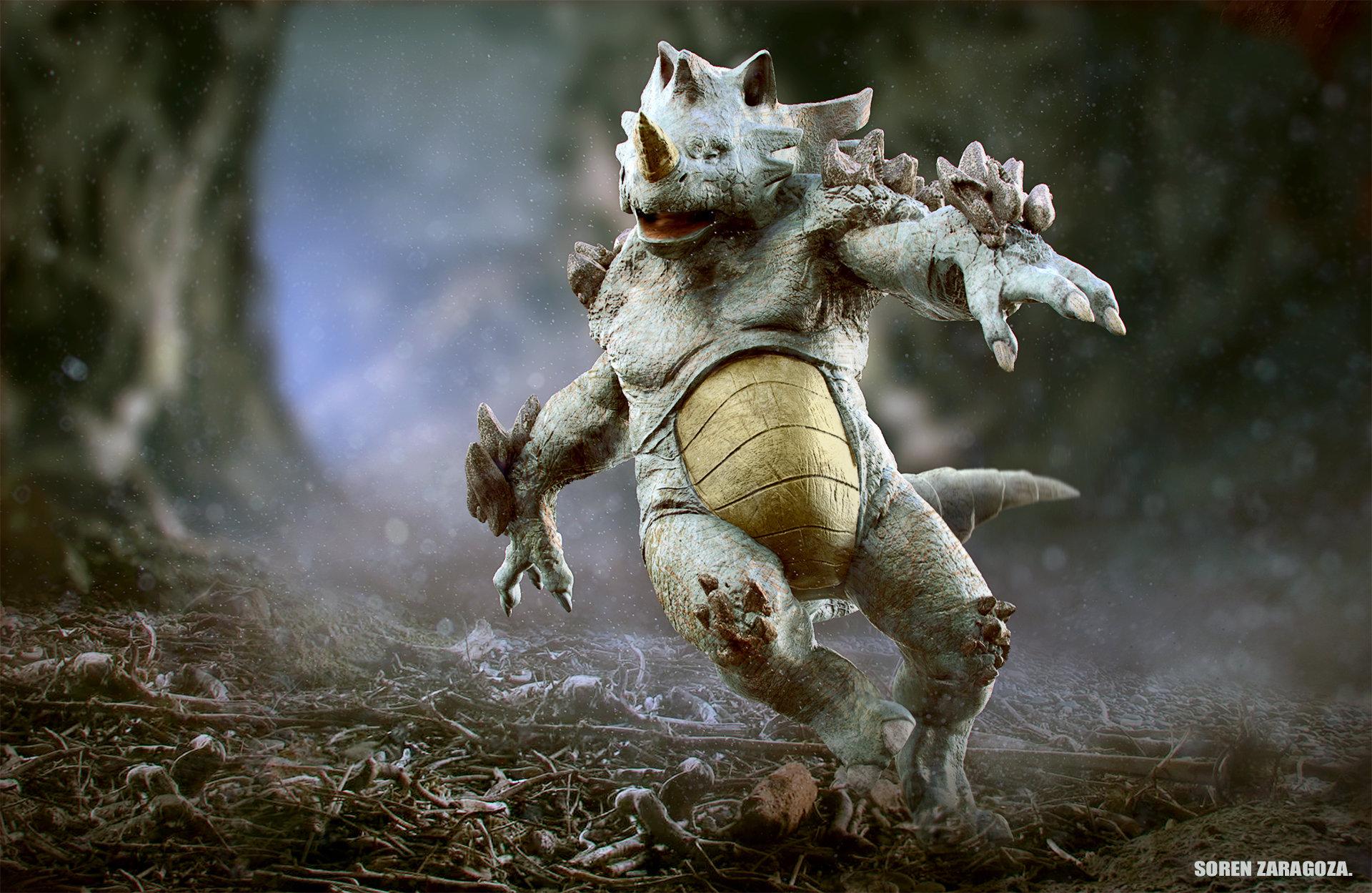 Mythical Creatures In The Fall Wallpaper Artstation Rhydon Gilberto Quot Soren Quot Zaragoza