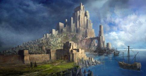 ArtStation Fantasy Castle Jeff Brown