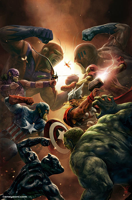 Company Of Heroes 2 Wallpaper Hd Artstation Marvel New Avengers 4 Aleksi Briclot