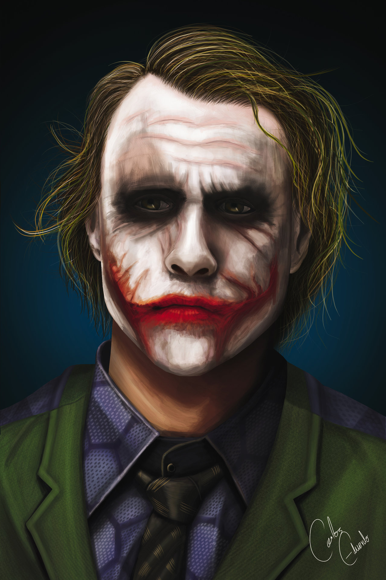 Artstation - Joker Heath Ledger Link Cars