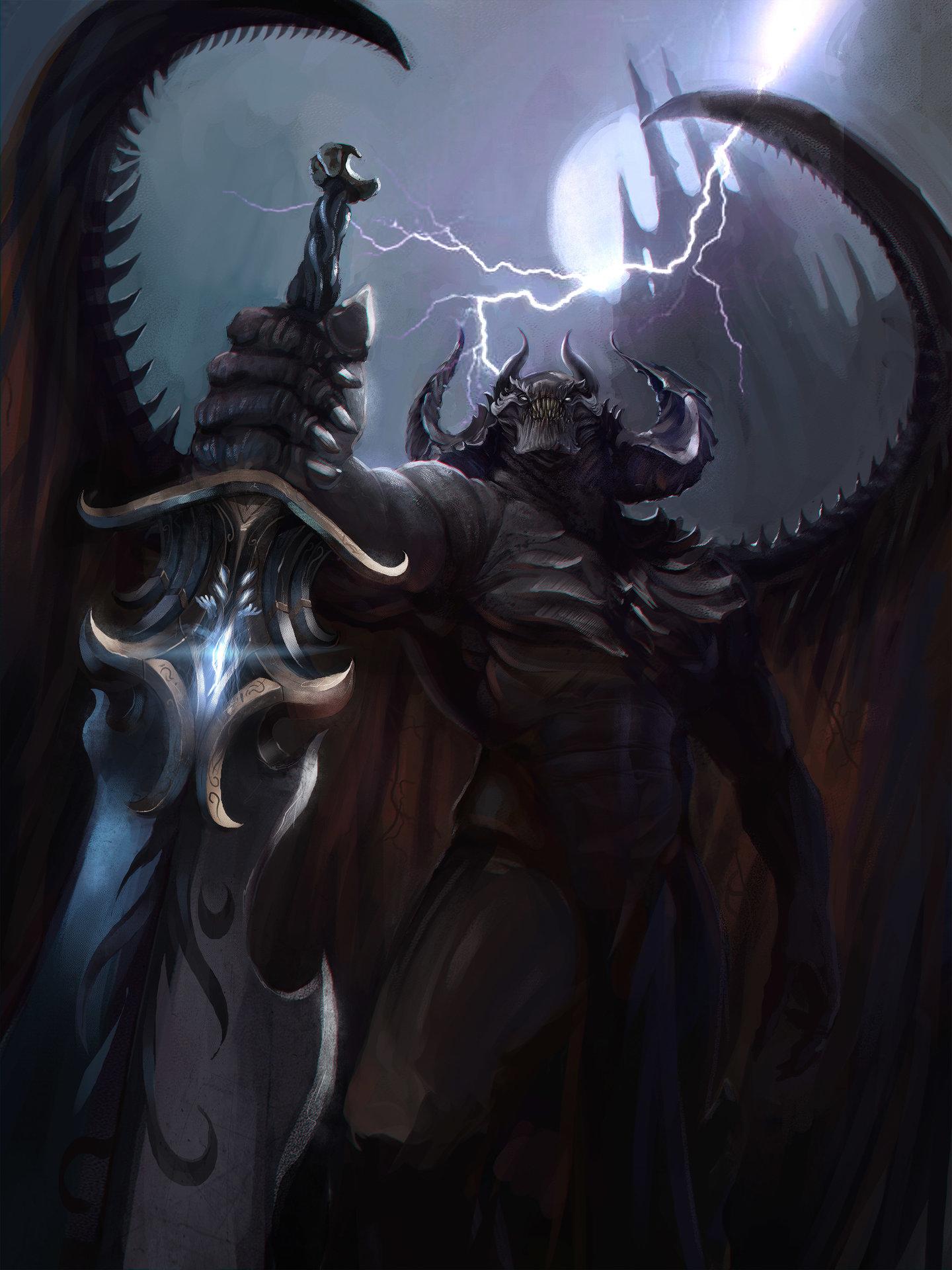 Anime Sniper Wallpaper Artstation King Of Demons Vincent Gradt