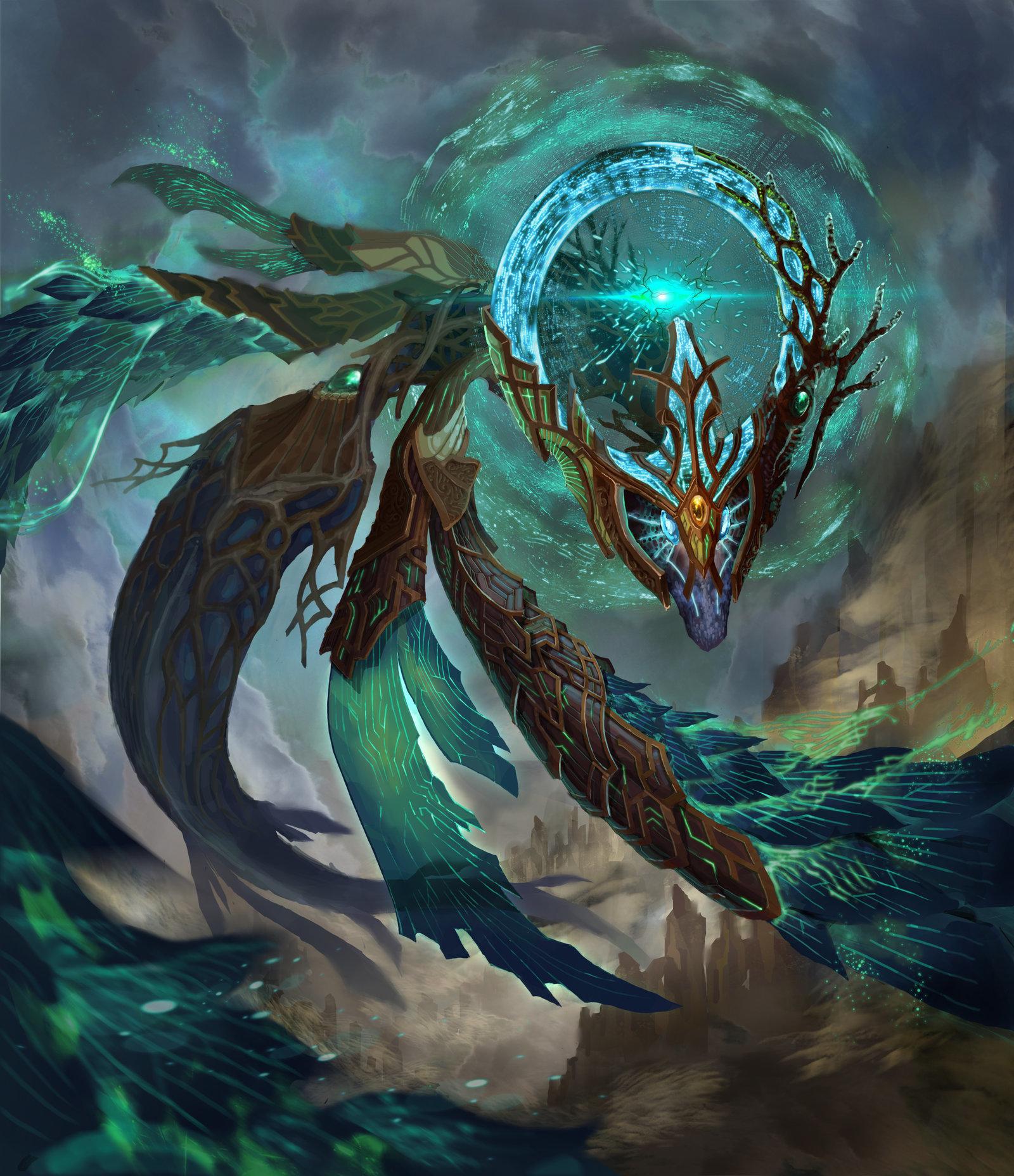 Artstation - Ancient Dragon Huy Van