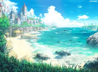 Island City Concept Art Photos Download JPG PNG GIF RAW TIFF PSD PDF and Watch Online