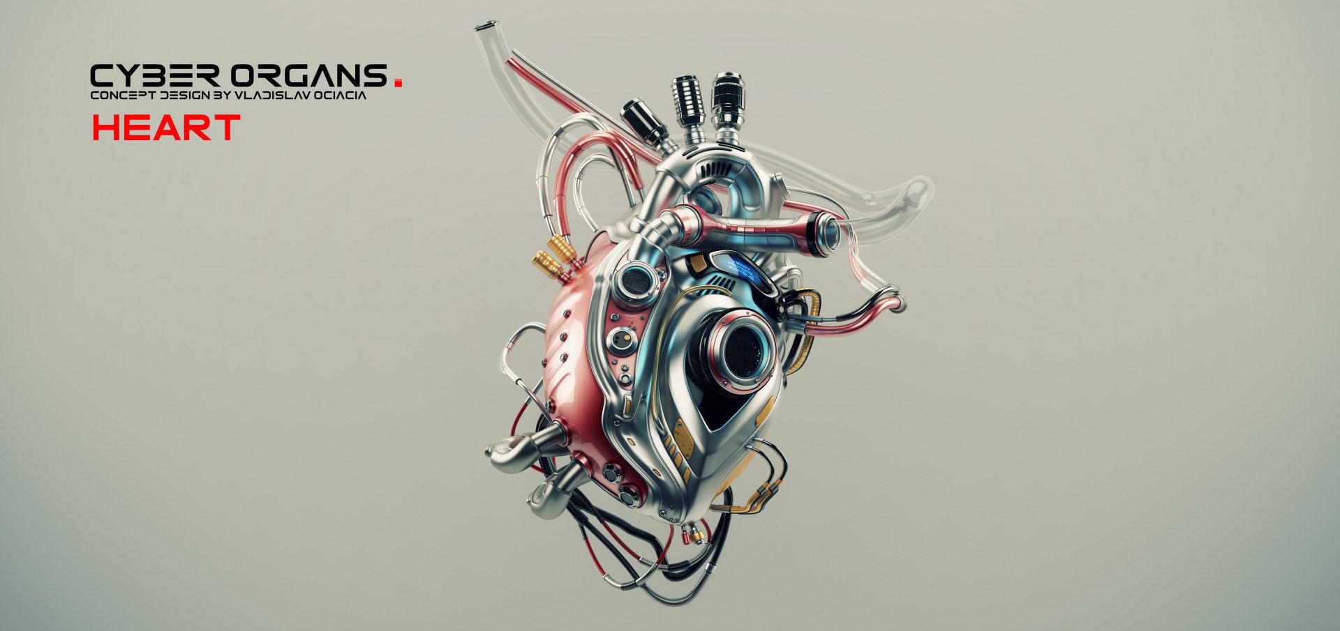 Artstation - Artificial Organs Vladislav Ociacia