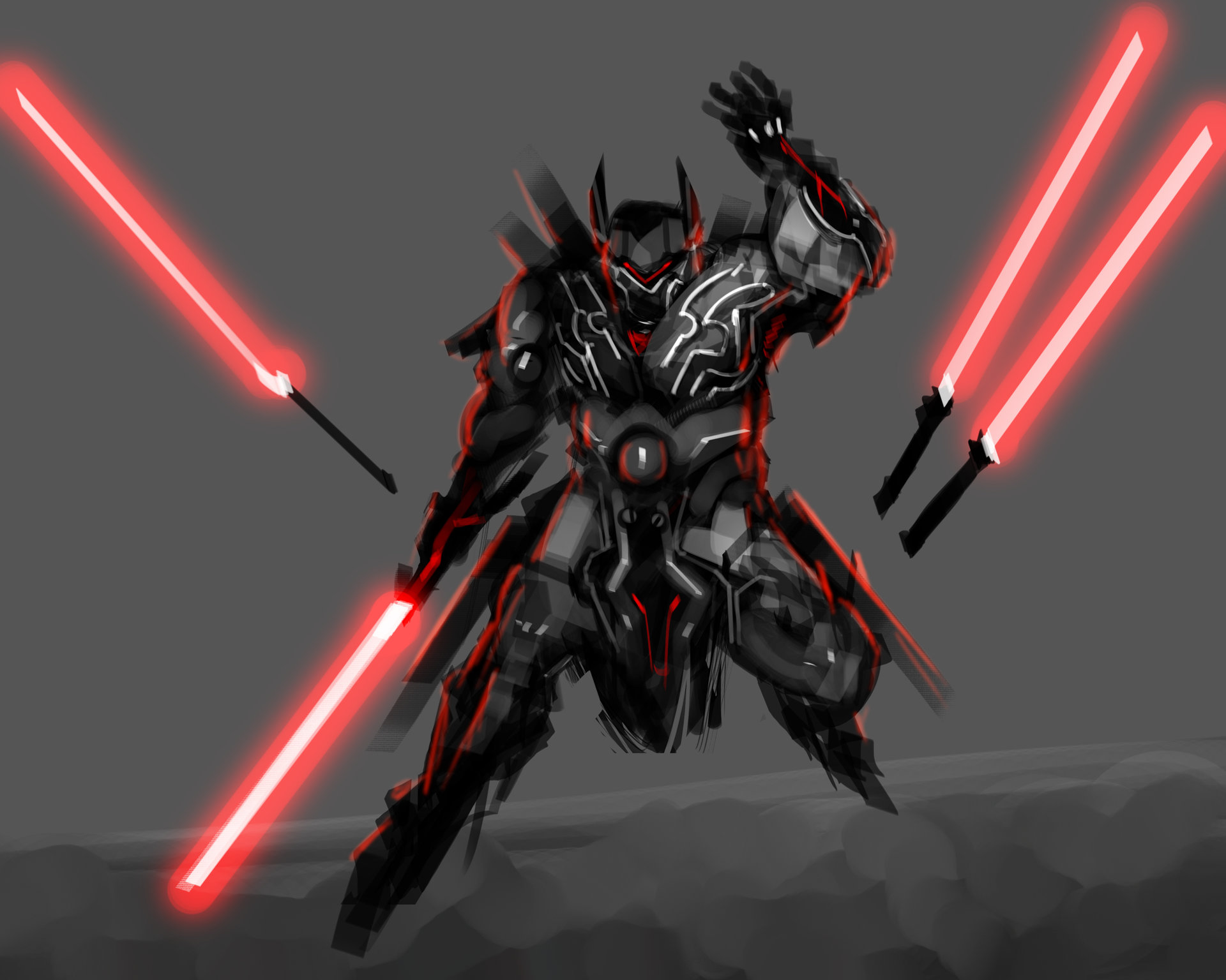 Star Wars Sith Character Concept Art