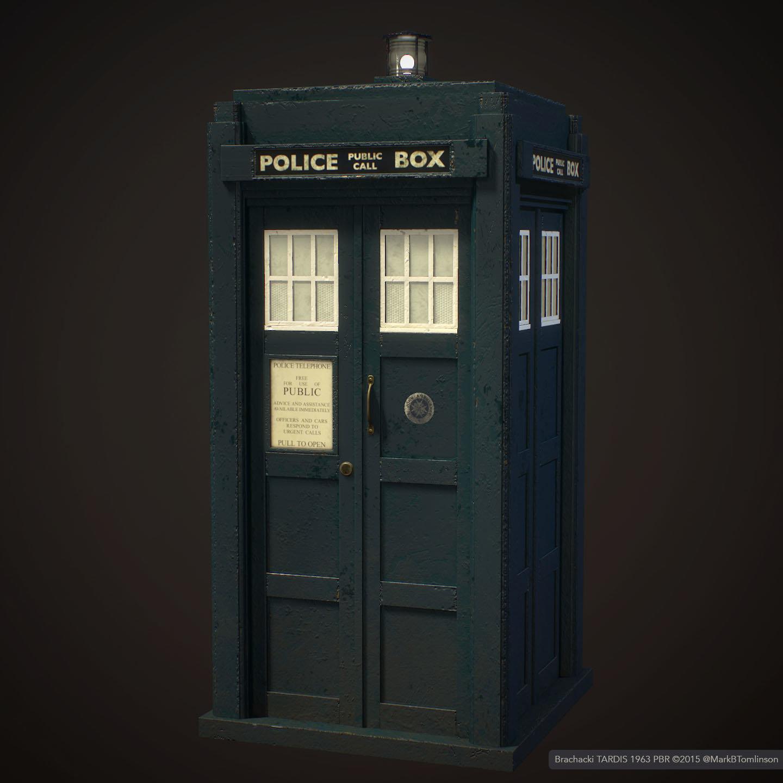 Mark B Tomlinson  Brachacki 1963 TARDIS