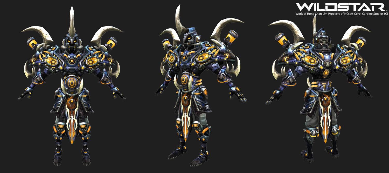 Hong Chan Lim Warrior Armor