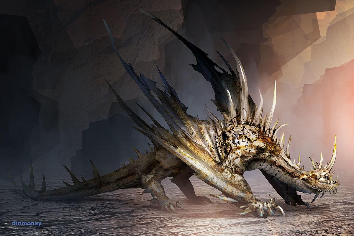 Monster Hunter Bone Dragon