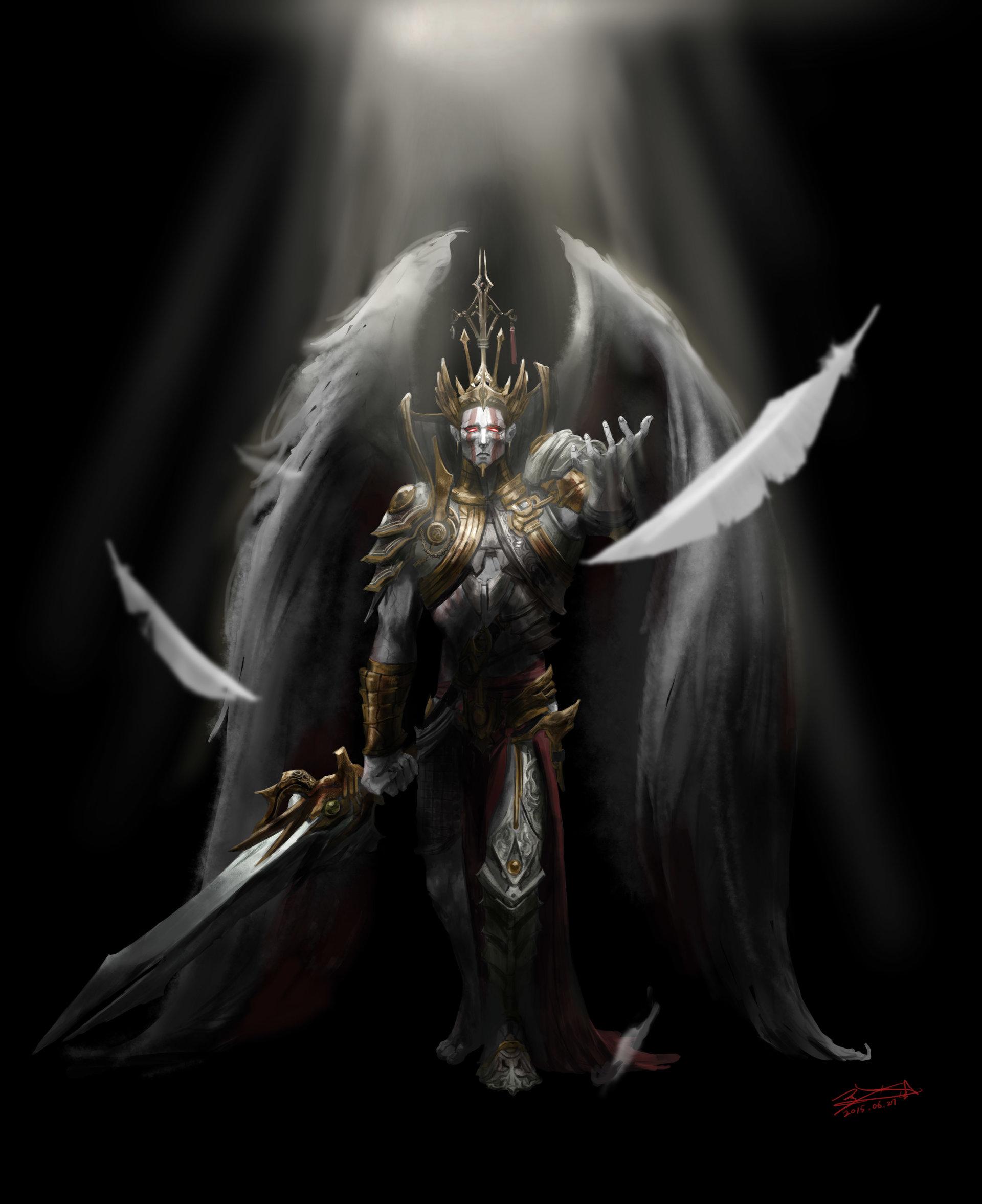 Artstation - Seraphim Coffee Man