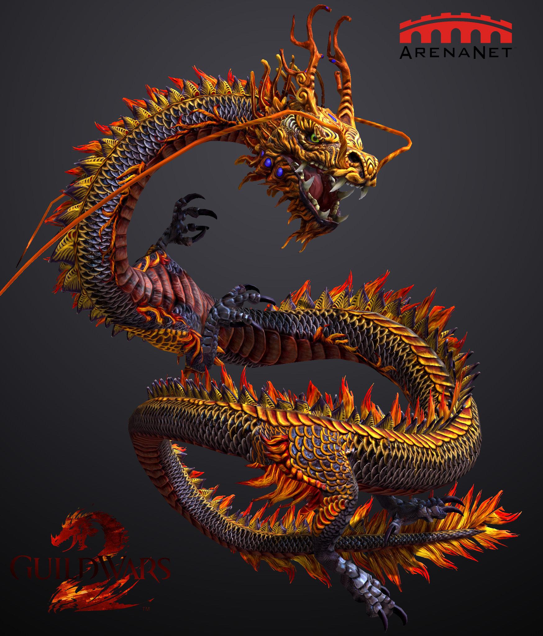 Catherine Rokitka - Guild Wars 2 Chinese Dragon