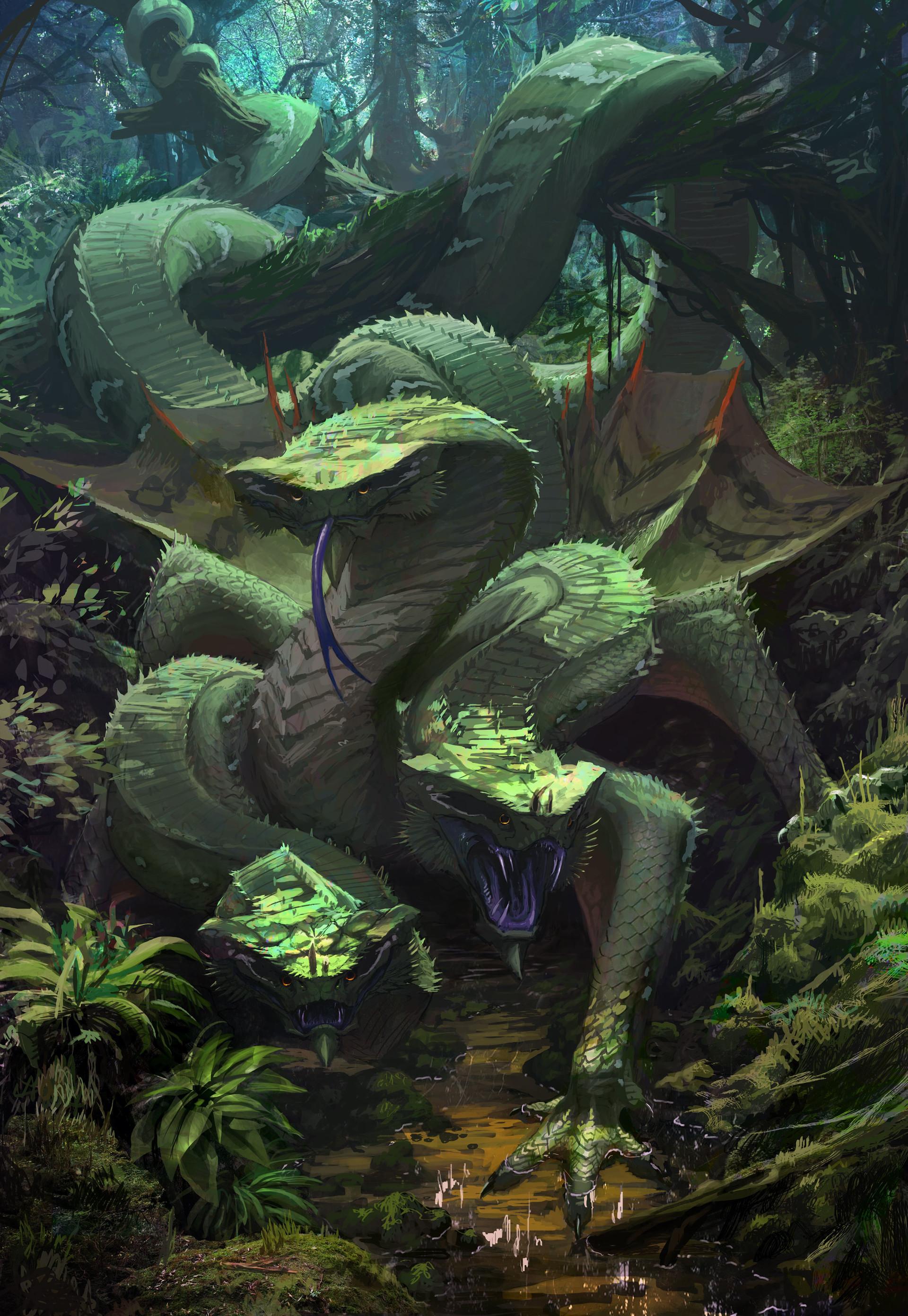 Artstation - Green Dragon Brett Macdonald